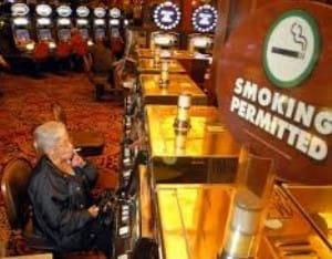 Rauchen in Spielbanken